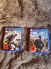 Watchdogs 1 2 Ps4