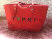 Tommy Hilfierger Shopper Rot