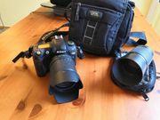 Nikon D70 Spiegelreflexkamera mit 1