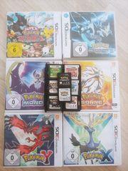 Pokemon 3DS-Spiele Platin Sonne Mond