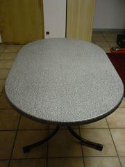 Gartentisch klappbar oval Werzalitplatte