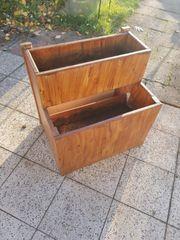 blumentreppe aus Holz