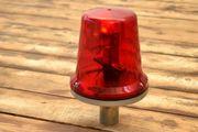 große Original DDR Rundumleuchte Rot