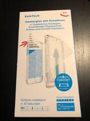 iPhone SE Schutz Glas neu