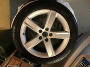 Winter-Reifen auf Alu- Felgen