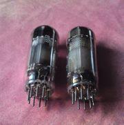 2 x Telefunken Radioröhren