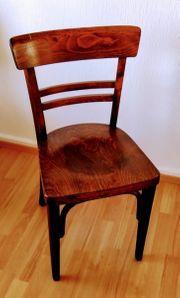 Vollholz - Stuhl 40er -Jahre