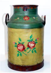 Vintage Antike alte große Milchkanne