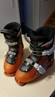 Kinderskischuh Salomon Gr 32