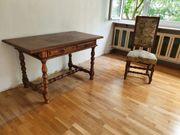 Schreibtisch mit Stuhl - Einzelstück