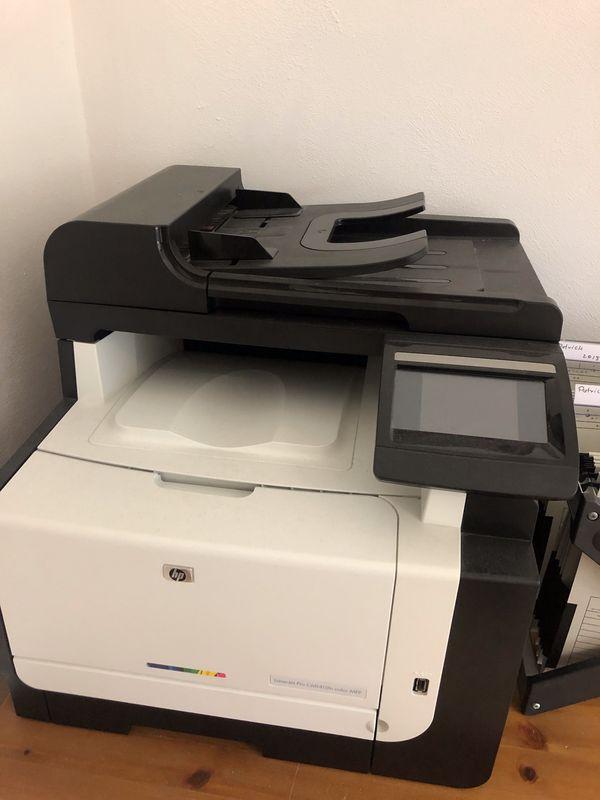 Farb Laser Drucker HP Laser