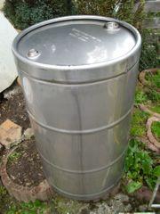 Edelstahlfass Fass 200 Liter V2A