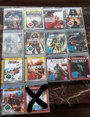 Ps3 Spiele und 1 ps2