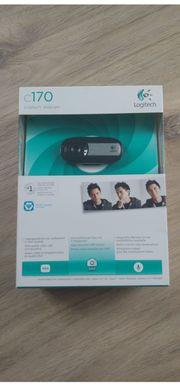 Logitech C170 Webcam schwarz original