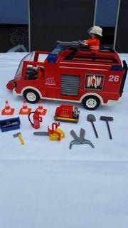 Playmobil Feuerwehrlöschfahzeug von 2002
