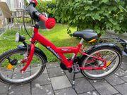 Kinder Fahrrad Pegasus rot 18