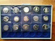 15 Stück 5 DM Gedenkmünzen