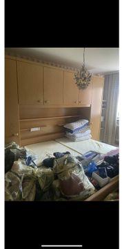 Komplettes Schlafzimmer echtes Holz