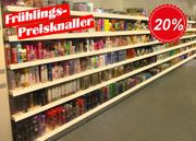 PREISKNALLER Regale Supermarktregale demontiert