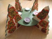 Advent Teelichthalter für 4 Teelichte