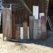 Altholz Dielen und Bohlen aus