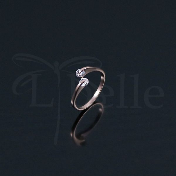Damen Ring vergoldet