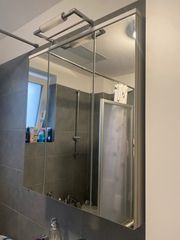Badschrank Unterschrank mit Spiegelschrank