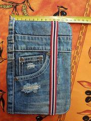 Tablett Tasche JeansLook