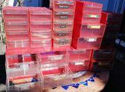 50 Sortierboxen stapelbar