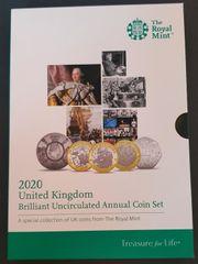 Sondersammlung Vereinigtes Königreich Münz-Set