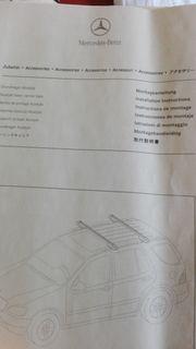 Dachträgersystem original Mercedes