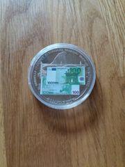 münze Europäische Währung Banknote 100