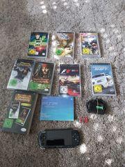 Verkaufe PSP mit Spielen und