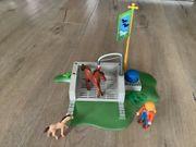 Playmobil großer Pferdestall incl Zusatz