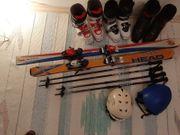 3 Ski-Schuhe 2 Ski 2