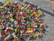 Playmobil und Lego Teile
