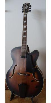 Semi Akustik Gitarre Gitarre mit