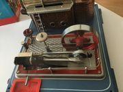 Historische Dampfmaschine von Wilesco Typ