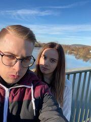 Ich und meine Freundin suchen