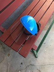 Verkaufe Sichtschutzhelm für Gartenarbeit oder