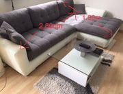Kunstleder-Sofa