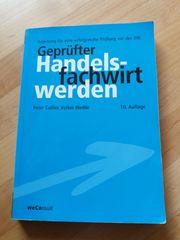 IHK Fachbuch geprüfter Handelsfachwirt IHK -