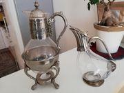 Decanter und Teekanne