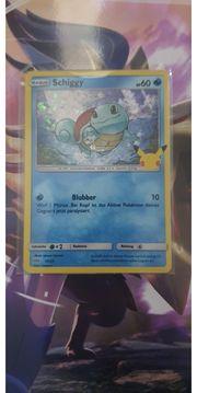 Pokemon Karte Shiggy Holo17 25