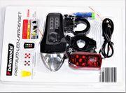 Premium LED-Fahrradlampen-Set - 70 Lux -1