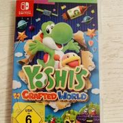 Yoshi crafted world Nintendo switch