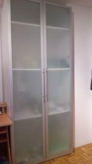Pax Schrank mit Glasfront