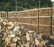 Trockenes Brennholz und von Qualität