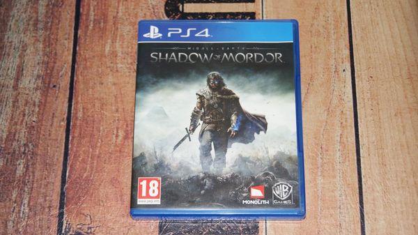 Mittelerde Mordors Schatten PS4