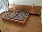 Doppelbett inkl 2x Lattenrost zu
